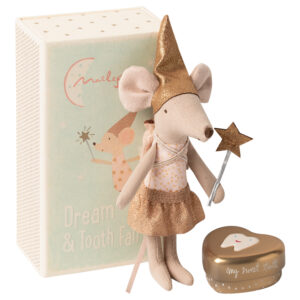 Maileg Tooth Fairy Mouse in matchbox Big Sister: 16-0730-01