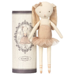 Maileg Dancing Ballerina Bunny in Tube: 16-8600-00