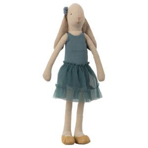 Maileg Bunnt Size 3 Ballerina – Petrol: 16-9304-00