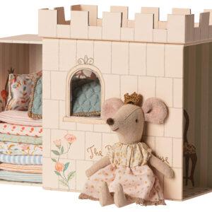 Maileg Princess and the Pea Big Sister Mouse: 16-9733-01
