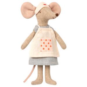 Maileg Nurse Mouse: 16-9746-00