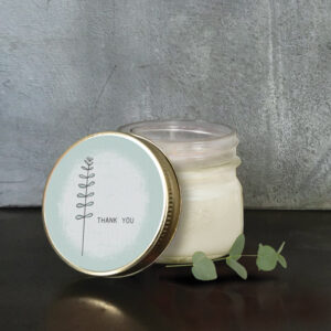 East of India Hedgerow Soy Candle 5039041091390 - Thank You 2122E
