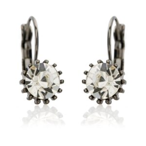 Lovett and Co. French Clip Swarovski Earrings 10393