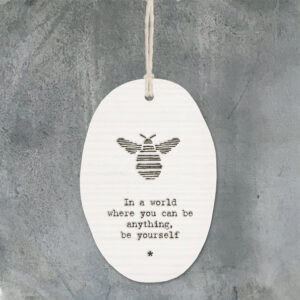 East of India Porcelain hanger bee In a world 5039041077721