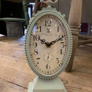 Parisian Fob Clock on Stand 10.5cm x 26cm
