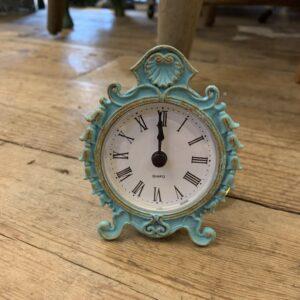 Aged Parisian Clock 8cm x 9.5cm