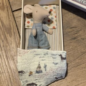 Maileg Little Brother Mouse in Box 16-0723-01