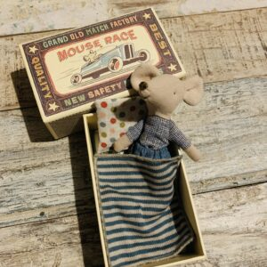 Maileg Little Brother Mouse in Box 16-8721-01