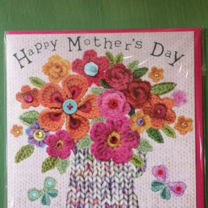 Happy Mother's Day Card Flower Vase